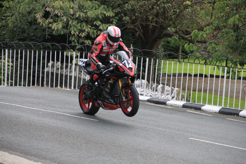 Mhylchreets Junior Grand Prix at Ballaugh Bridge