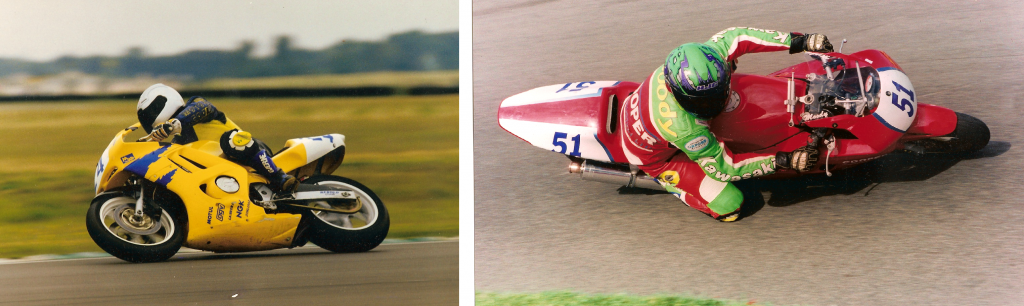 British SuperSport - CBR600fw - 1998 with Team Moto Solo - 1999 as a privateer