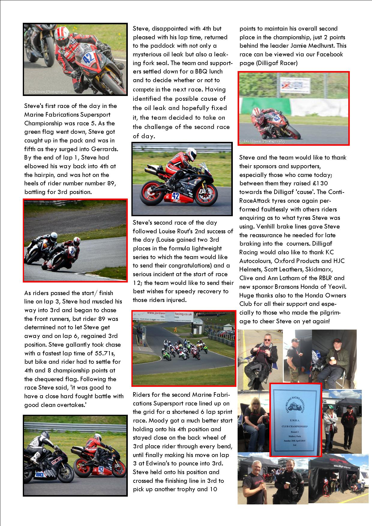 dilligaf racing news vol 11 p2