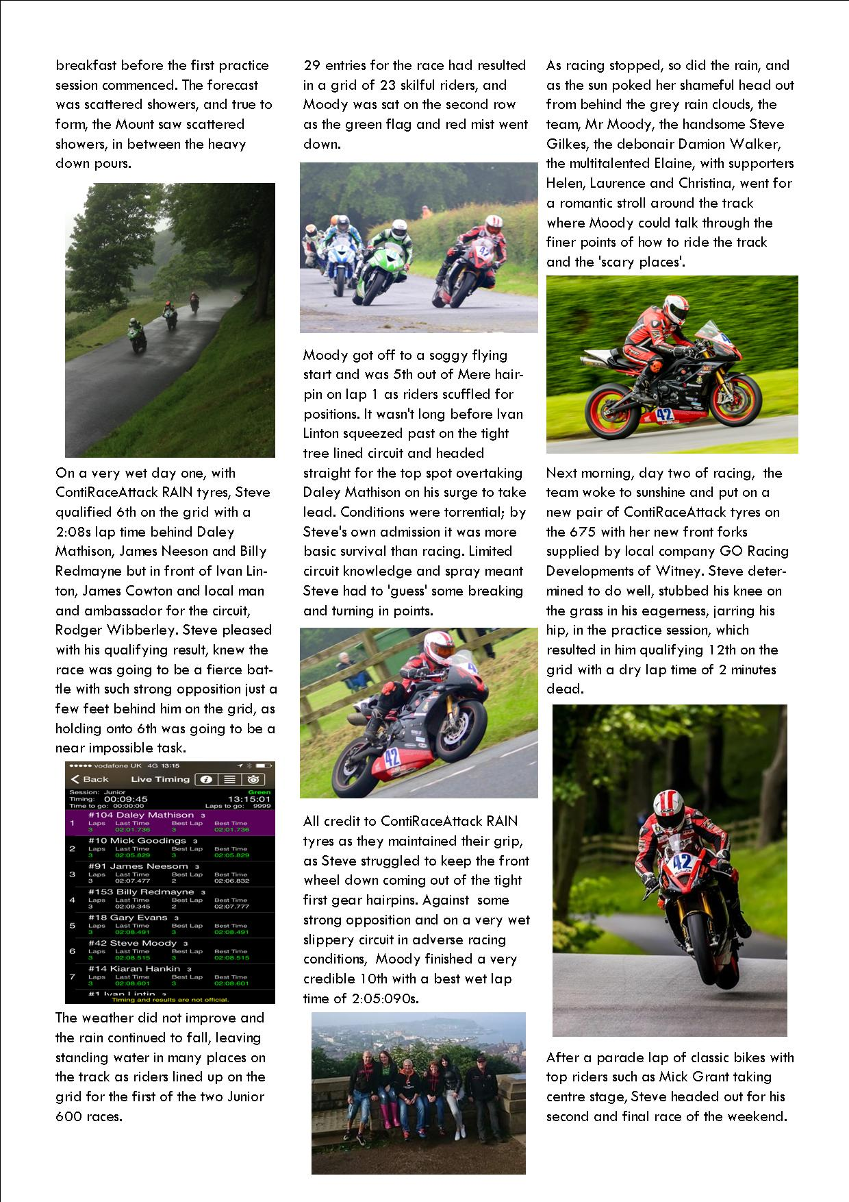 dilligaf racing news vol 12 olivers mount June 2015 p2