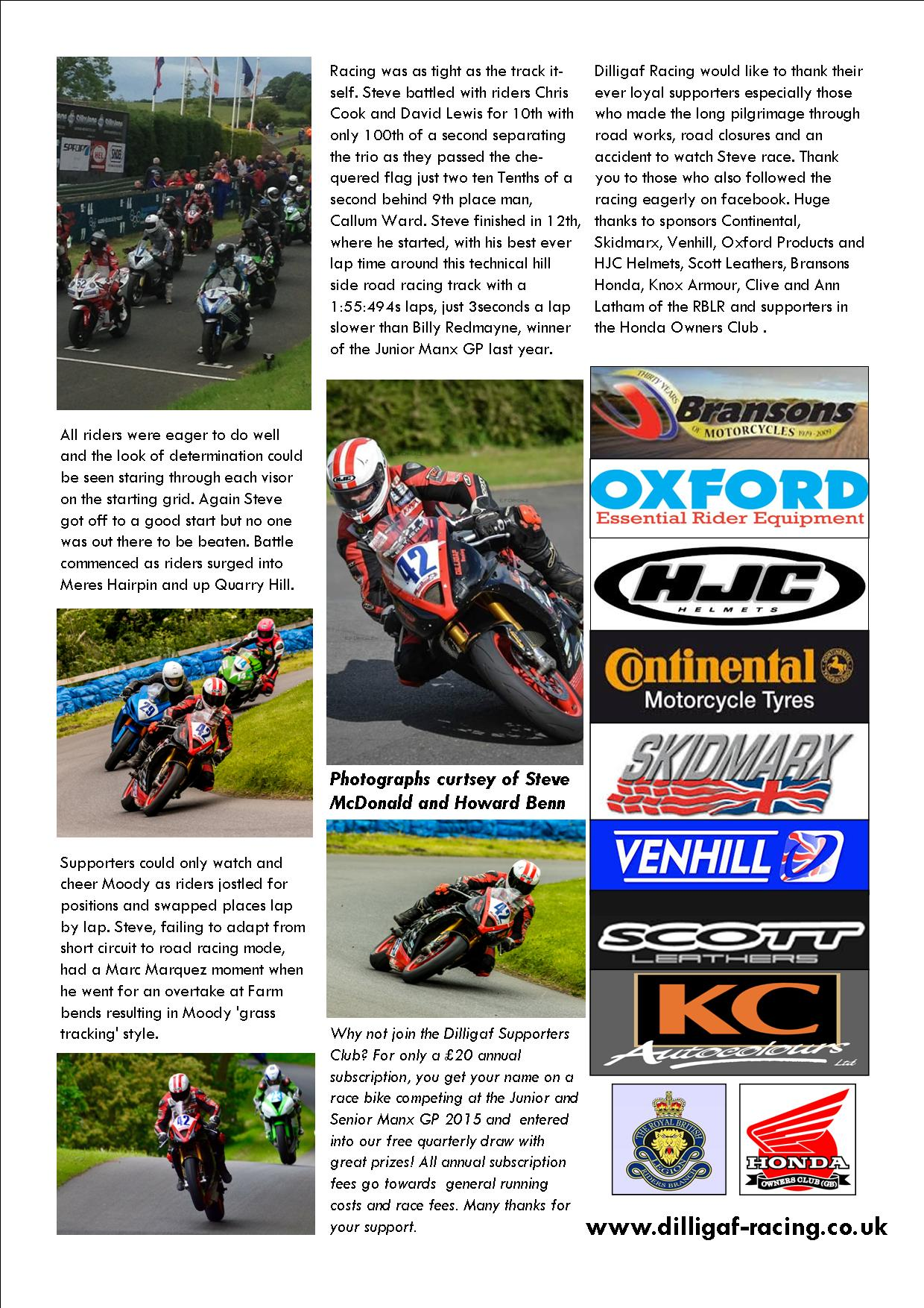 dilligaf racing news vol 12 olivers mount June 2015 p3