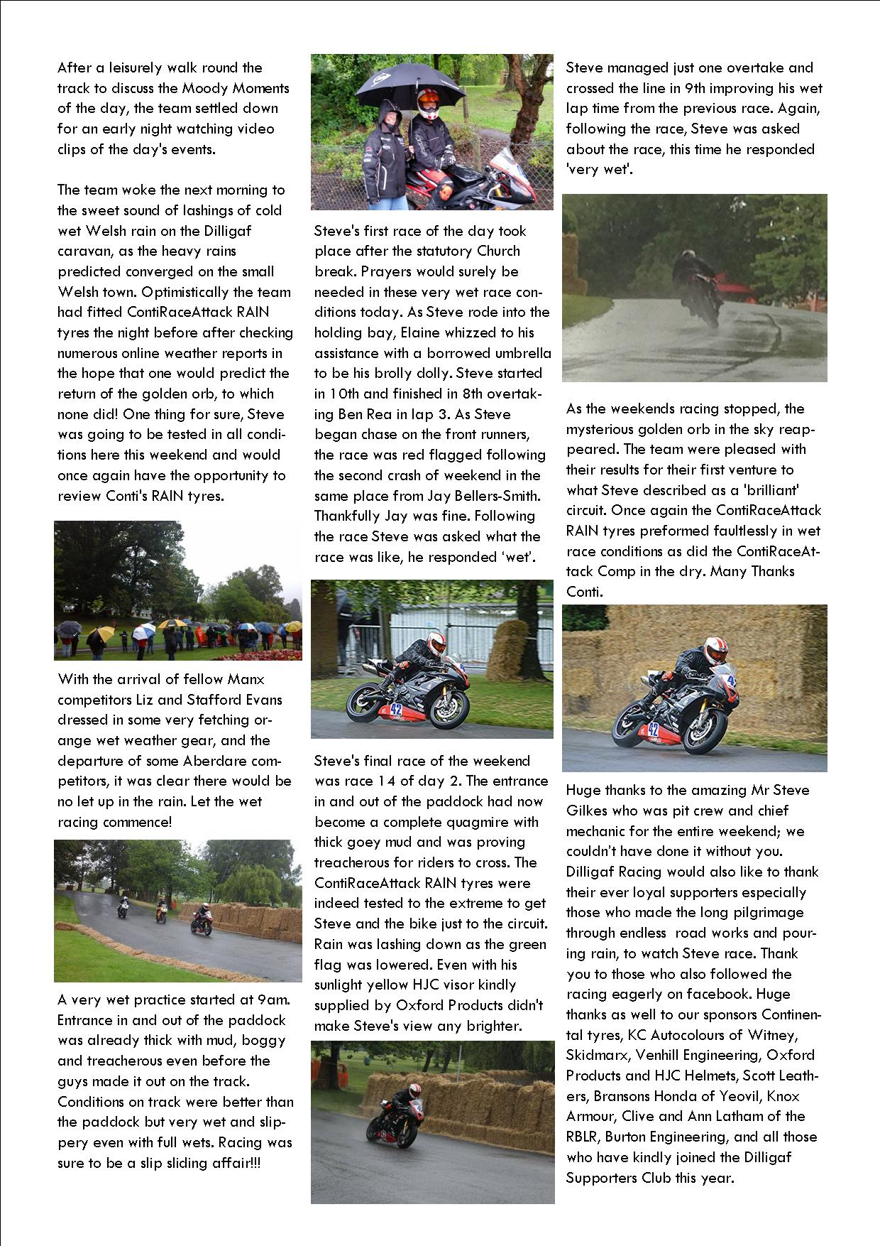 dilligaf racing news vol 13 Aberdare National park p3